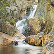 Smalls Falls In Western Maine Art Print