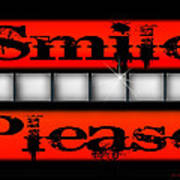 Smile Please Art Print