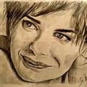 Smile Art Print by Soumya Bouchachi