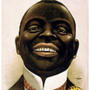 Smiling African American Circa 1900 Art Print