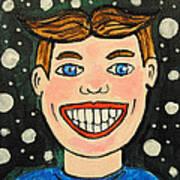 Smiling Boy Art Print