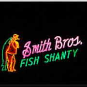 Smith Bros. Fish Shanty Art Print