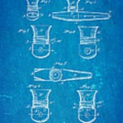 Smith Kazoo Musical Toy Patent Art 1902 Blueprint Art Print