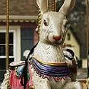 Smithville Carousel Rabbit Art Print