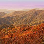 Smokey Mountains Art Print