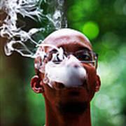 Smokin Puffs Art Print