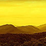 Smoky Mountain Glow Art Print