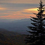 Smoky Mountain Sentinel  Art Print