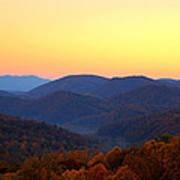Smoky Mountain Sunrise Art Print