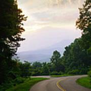 Smoky Mountains Scene Art Print