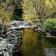 Smoky Mountian River Print by Sandy Keeton