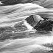 Smooth Flow Art Print
