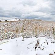 Smuggler's Beach Snow Cape Cod Art Print