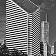 Smurfit-stone Chicago - Now Crain Communications Building Art Print by Christine Till