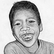 Snaggle-tooth Art Print