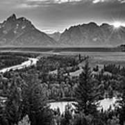 Snake River - Grand Teton National Park Art Print