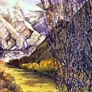 Snake River Landing Art Print