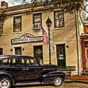 Snappers Saloon Ripley Ohio Art Print