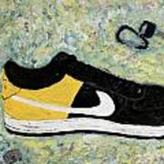 Sneaker And Sportcars Art Print by Mark Stiles