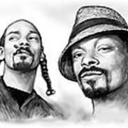 Snoop Dogg Group Art Drawing Sketch Poster 30x85cm Art Print