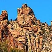 Snoopy Rock - Sabino Canyon Tucson Arizona  Art Print