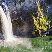 Snoqualime Falls And Pool Art Print