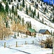 Snow Bound Art Print