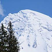 Snow Cone Mountain Top Art Print