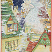 Snow Fairy Art Print
