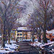 Snow In Silverado Dr Art Print