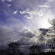 Snow Is In The Air Art Print