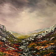 Snow On The Cairngorms Art Print