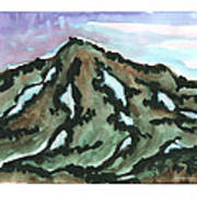 Snow Patches Art Print