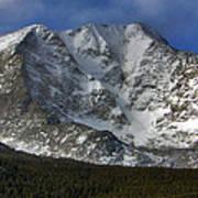 Snow Peaks Art Print