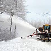 Snow Plow Art Print