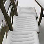 Snow Seat Art Print