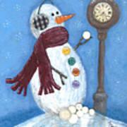 Snow Time Art Print