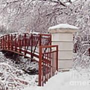 Snow Way Or No Way Art Print by Irfan Gillani
