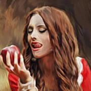 Snow White Art Print by Hazel Billingsley
