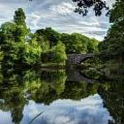 Snowdonia Summer On The River Art Print