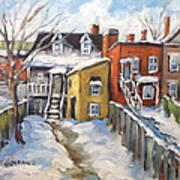 Snowed In Yards By Prankearts Art Print