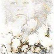 Snowfairy Art Print