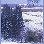 Snow's Arrival Print by Joy Nichols