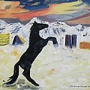 Snowtime In Vegas Art Print