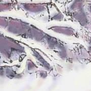 Snowtract Art Print