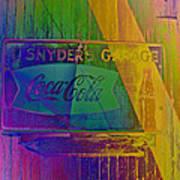 Snyders Garage Art Print