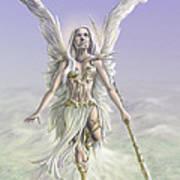 Soaring Angel Art Print