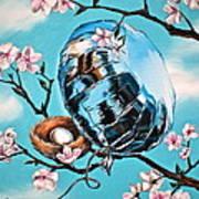 Soaring Art Print by Anthony Mezza