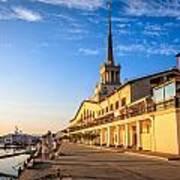 Sochi Sea Port Art Print