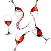 Social Drinker Art Print